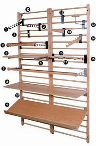 Wooden Dowel Display System Diagram    Dowel Fixtures
