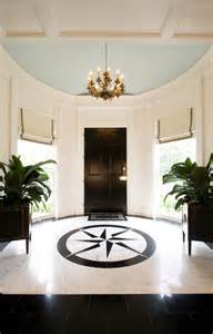 Painted Decks And Porches by Round Foyer Transitional Entrance Foyer Margaux