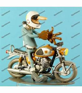 Figurine Joe Bar Team : figurine resin joe bar team moto suzuki t500 t 500 1968 d mons et merveilles ~ Medecine-chirurgie-esthetiques.com Avis de Voitures