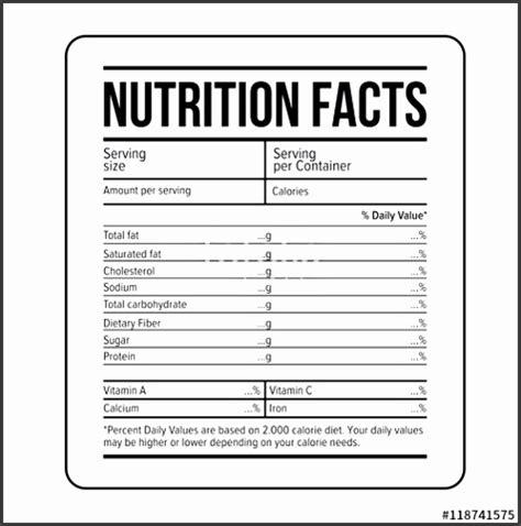ingredients label template sampletemplatess