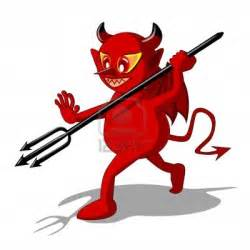 Halloween Devil Cartoon