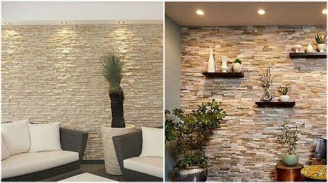 excelentes ideas de decoraciones de paredes  piedra