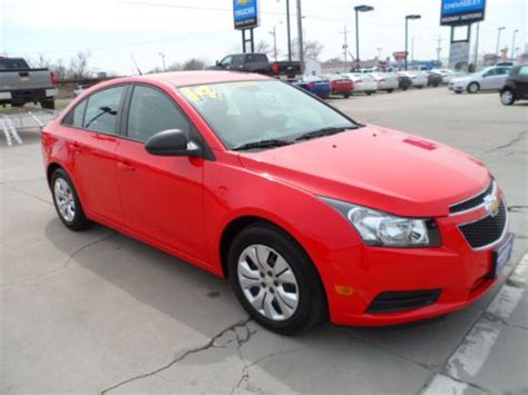 Purchase Used New 2014 Chevy Cruze Ls Demo Wholesale