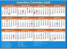 Mauritius Calendar 2018 Qualads