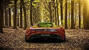 Aston Martin Automobiles Autumn Autumn Leaves Cars Co