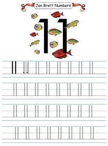 free printable number tracing worksheets 11 20 free