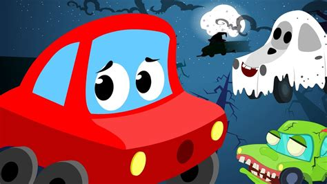 red car  halloween night scary song youtube