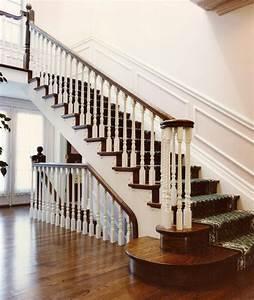 Escalier Bois Blanc : rambarde escalier pas cher ~ Melissatoandfro.com Idées de Décoration