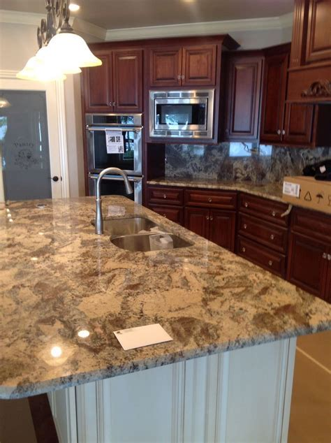 River Bordeaux granite island   New home   Pinterest