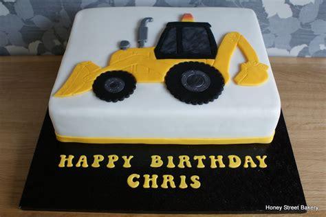 digger cake template digger jcb excavator birthday cake honey bakery birthday cakes birthday