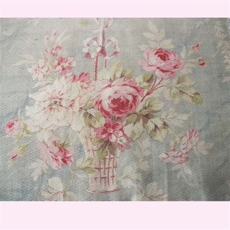 shabby chic fabric roses pin by vanna h on textile love pinterest