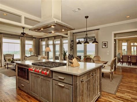 reclaimed wood kitchen island barn wood kitchen ceiling wow 4534