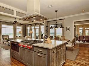 23 reclaimed wood kitchen islands pictures designing idea With barn wood style kitchen cabinets