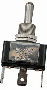 3 Blade Terminal Toggle Switch Momentary Mom