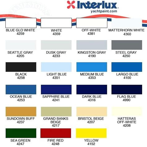 marine color cards paint colors charter school near me