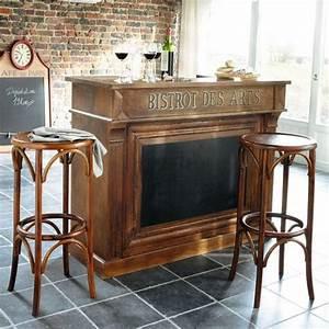 Meuble Bar Maison Du Monde : meuble de bar en manguier bistrot maisons du monde ~ Nature-et-papiers.com Idées de Décoration