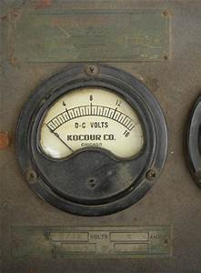 Antique Kocour Early Electric Dc Power Supply Or Battery