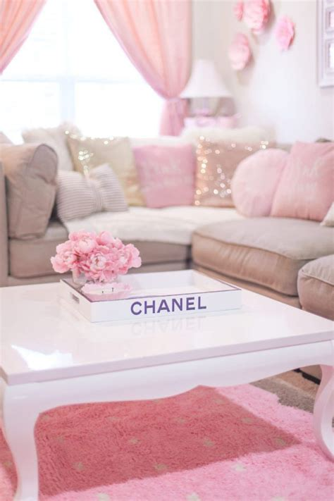Girly Living Room by Pin By Norah On Pink Home Decor Bedroom Decor Room Decor