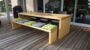 Gartentisch Aus Holz : gartentisch holz terrasse pinterest gartentisch holz gartentisch und garten ~ Eleganceandgraceweddings.com Haus und Dekorationen