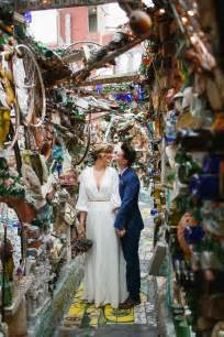 a philadelphia magic gardens wedding catered by a taco