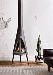 Poele A Granules Design Contemporain : poele a bois moderne ~ Premium-room.com Idées de Décoration