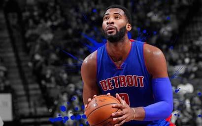 Andre Drummond Pistons Detroit Basketball 4k Nba