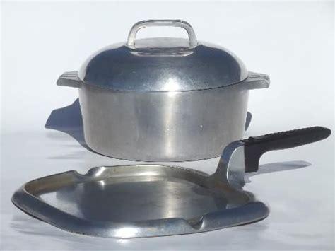 antique cookware vintage wagner ware magnalite cast aluminum pots pans dutch oven