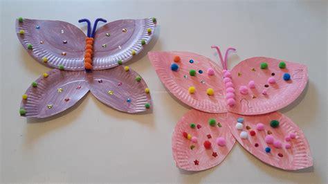 Schmetterlinge Aus Pappteller  Diy  Der Familienblog Für