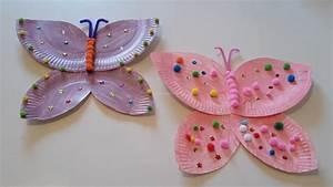 Schmetterlinge Aus Tonpapier Basteln : schmetterlinge aus tonpapier basteln trendtiere beim basteln und dekorieren bastelfrau ~ Orissabook.com Haus und Dekorationen