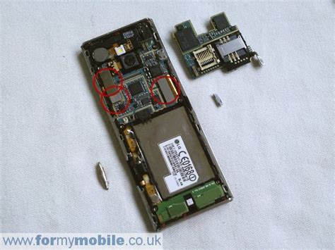 Chocolate Disassembly Screen Replacement Repair