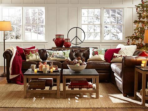 brown leather decorating ideas room decorating ideas pottery barn decorate with brown