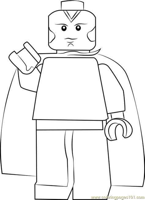 lego vision coloring page  lego coloring pages coloringpagescom