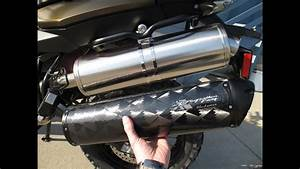 2013 Bmw F800gs Stock Exhaust Vs Two Brother Exhaust
