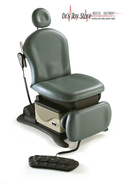 midmark 641 barrier free 174 power procedures chair new and