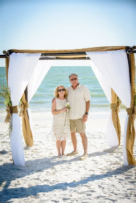beach renewal vow mexico sunset wedding park florida ceremony everlasting reaffirmed opened couples married near
