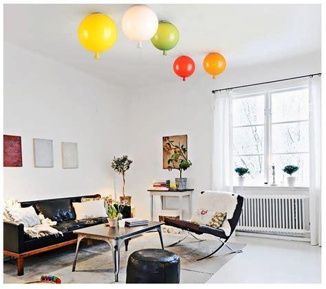 Modern Novelty Color Balloon Led Ceiling Light Acrylic