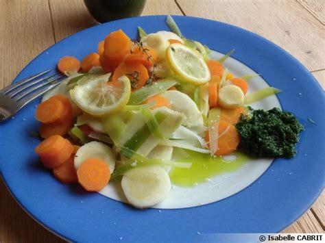 ail des ours cuisine légumes vapeur et purée d 39 ail des ours recette de cuisine