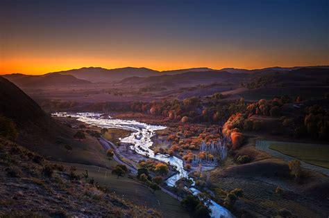 Beautiful Valley River Wallpaper, HD Nature 4K Wallpapers ...