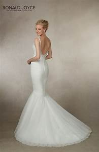ronald joyce joanna 18002 fishtail wedding dress hoops a With fishtail wedding dresses