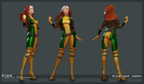 rogue marvel heroes final render deviantart character fan polycount lord mmorpg lee devonald almighty gir wiki costume visual update ama