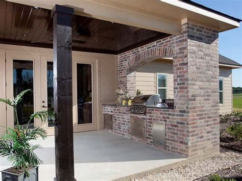 inspiring grilling porch photo 17 best ideas about brick arch on brick