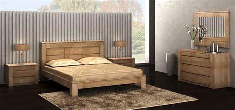 chambre a coucher en chene mobilier de chambre moderne figaro en chêne meubles bois