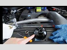 BMW X5X6 E70E71 Oil Change in 2 minutes YouTube