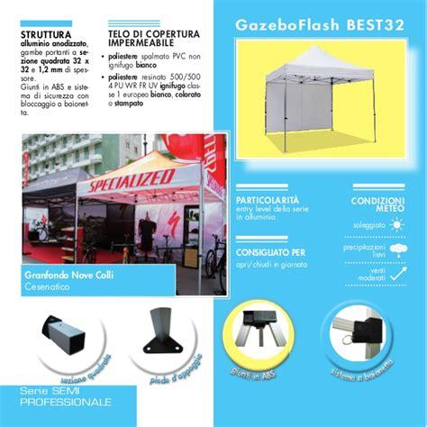 gazebo flash prezzi catalogo gazeboflash