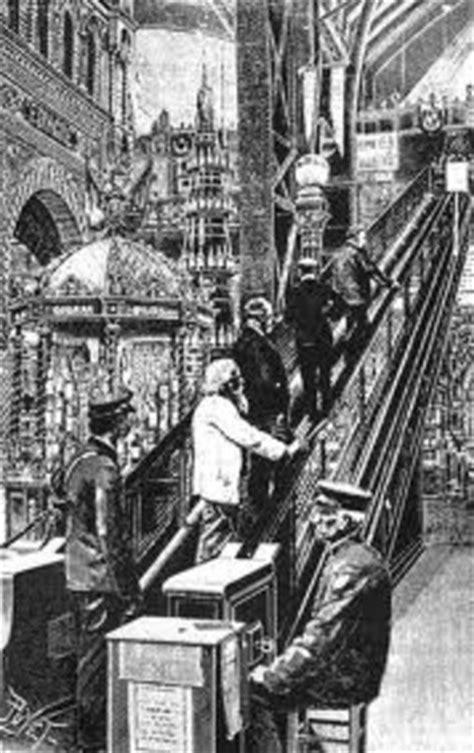 History of Escalators timeline   Timetoast timelines