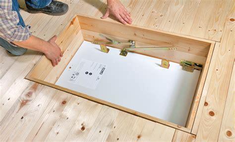 Dachbodentreppe Richtig Planen Und Bauen by Bodentreppe Einbauen Anleitung