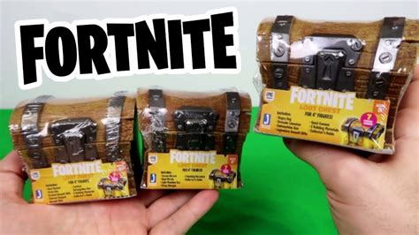 opening fortnite loot chests jazwares toys youtube