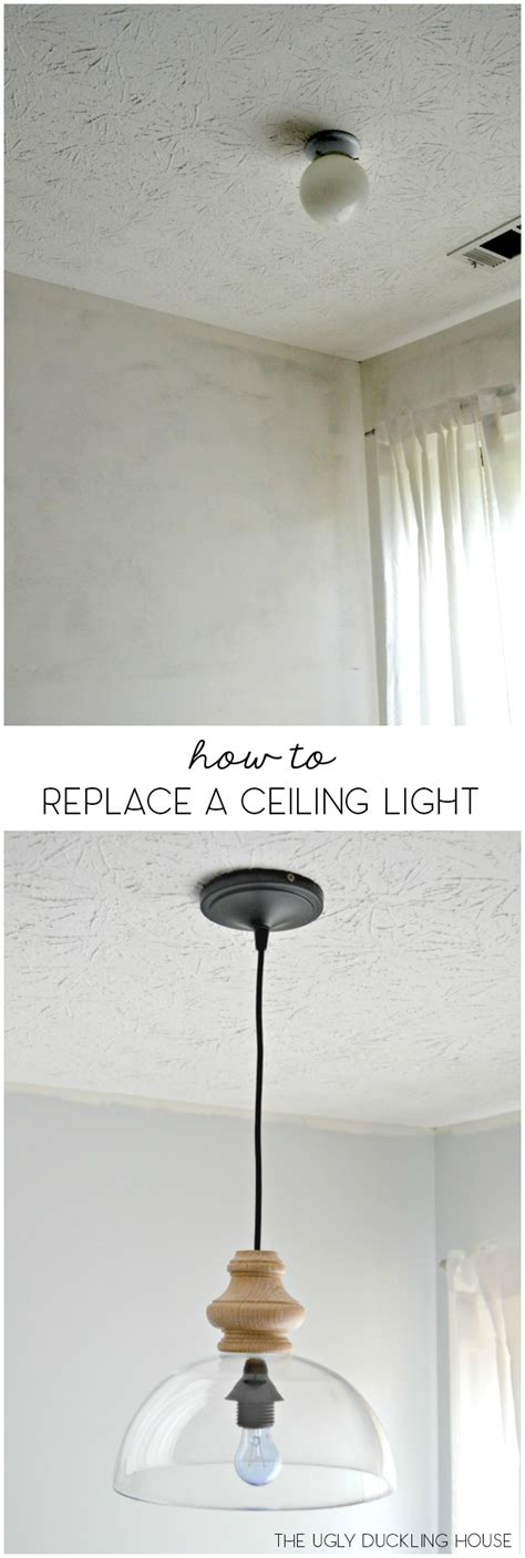 replacing ceiling light fixture how to replace overhead light fixtures with ease