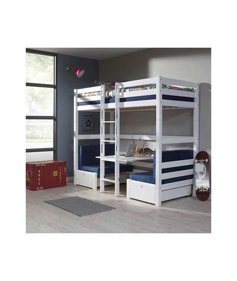 lit superpose avec bureau lits superposes enfants avec bureau