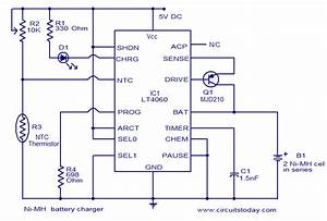 Ni-mh Battery Charger Using Lt4060